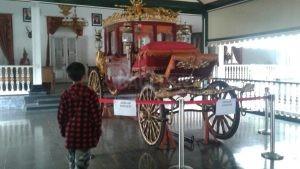 Kereta Kencana di Komplek Pendopo Rumah Dinas Bupati Purworejo. (Wid)