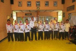 SMP Negeri 26 Purworejo raih medali Kejuaraan Pencak Silat Exsco Smadaba Cup III Tahun 2018. (Wid)